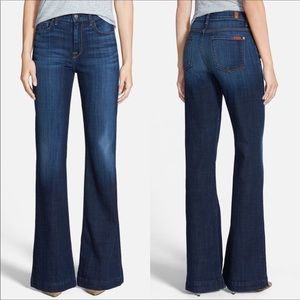 """NWT 7 For All Mankind """"Ginger"""" Hi Rise Flare Jeans"""